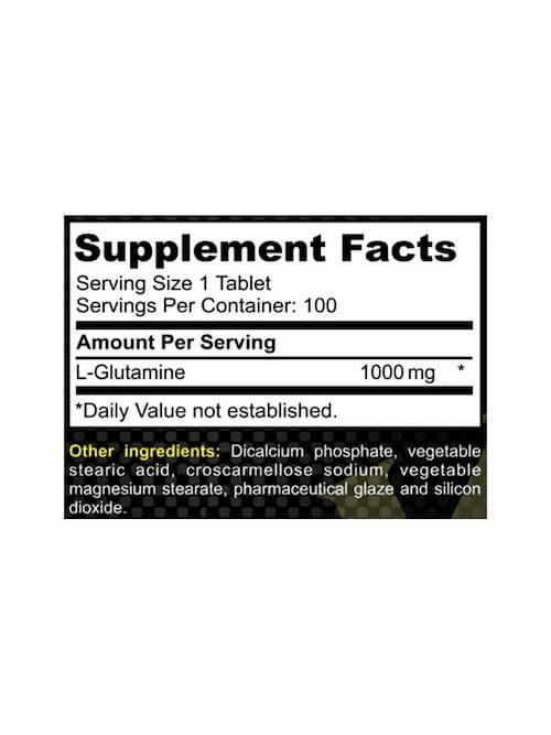Tabla L- Glutamina 100 pastillas. DK