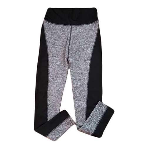Leggins gris y negro