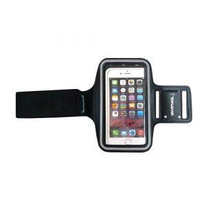 porta teléfonos celulares en el brazo