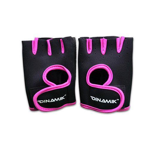 Guantillas básicas rosa