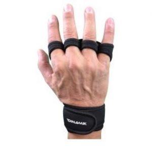 guantillas tipo ninja (sin parte de atrás) - con muñequeras