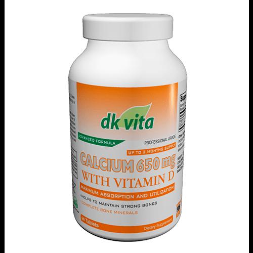 Calcio + Vitamina D 60 pastillas. DK