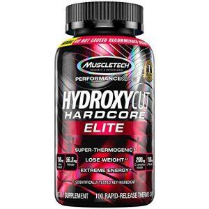 Hydroxycut Hardcore Elite 100 capsulas. Muscletech