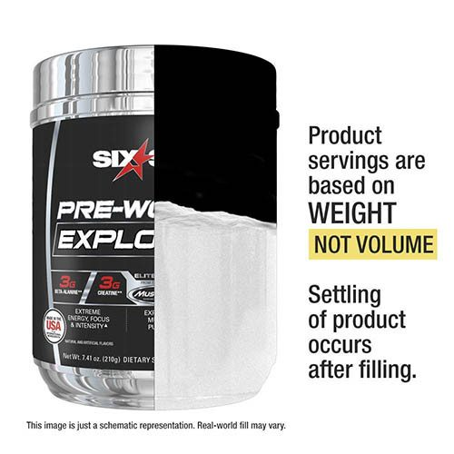 Pre Workout Explosion 210g. Six Star v4