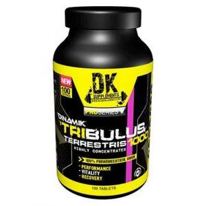 Tribulus Terrestris - Potenciador de la testosterona. 100 caps. DK