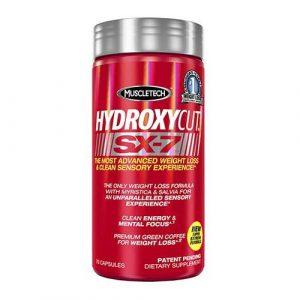 Hydroxycut SX-7 70 capsulas. Muscletech