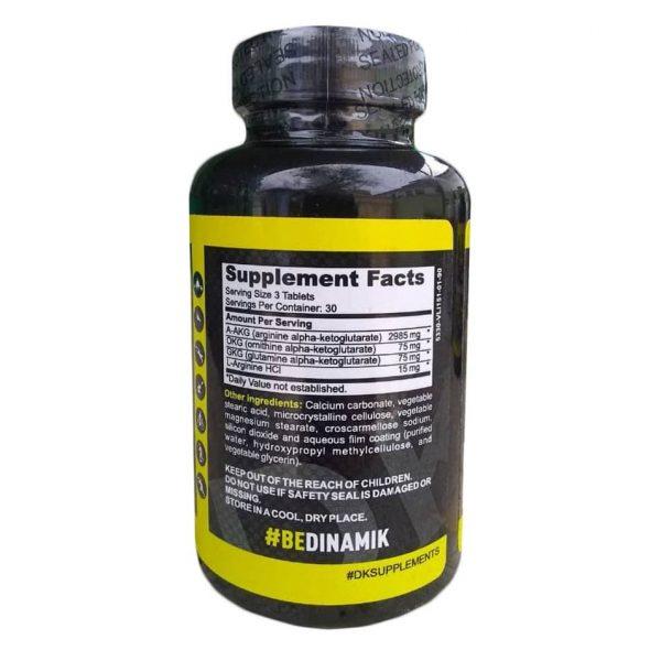 Oxido Nítrico DK PUMP, 90 pastillas spec