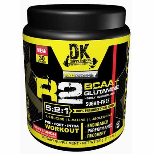 R2 - BCAA 5:2:1 + Glutamina + Vitaminas