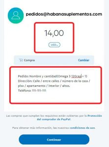 transferencia paypal